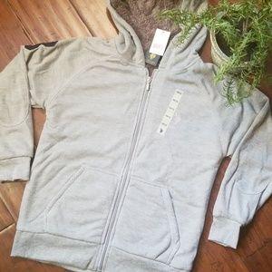 NWT Boys sz 10/12 U.S. Polo Zip Up Hooded Jacket